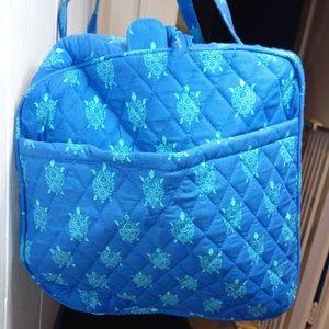 Vera Bradley Bags - Vera Bradley Lg Traveler Duffel Bag Marine Turtles